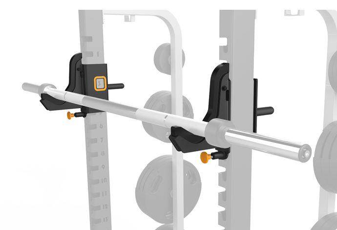 Fat Bar J-hooks DOPT26, Matrix gym equipment.