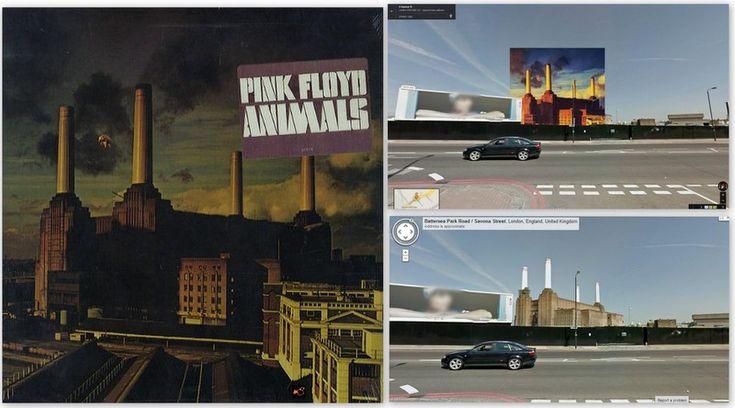 """Pink Floyd – """"Animals"""" Albümü KLASİKLEŞMİŞ 12 ALBÜM KAPAĞI NEREDE ÇEKİLDİ?"""