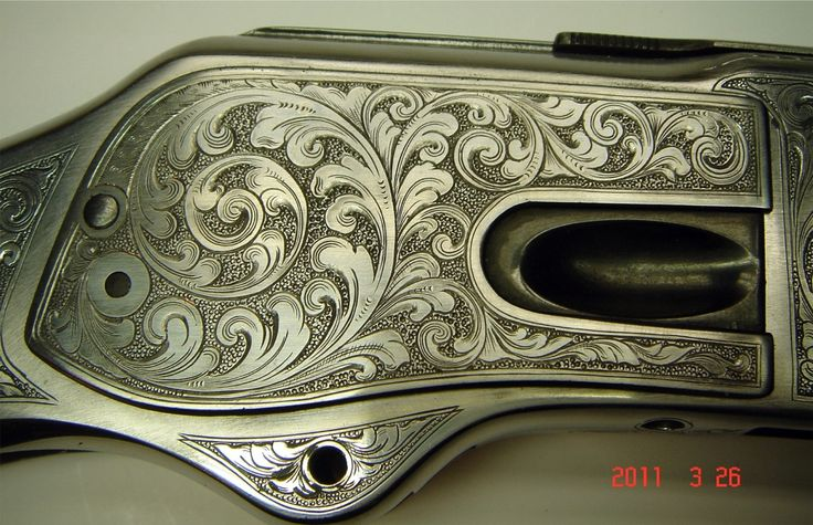 Winchester hand engraved