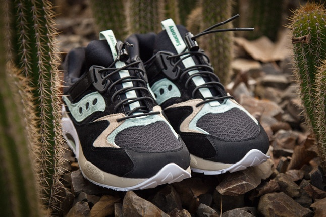 As part of our awesome 'Ten Years of Sneaker Freaker' anniversary celebrations, we have doubled down with Saucony to produce the BUSHWHACKERS, our take on the sturdy GRID 9000 runner.