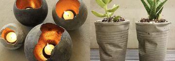 30+ dekorative DIY-Ideen mit Zement, die Ihr Haus garantiert auffrischen werden!