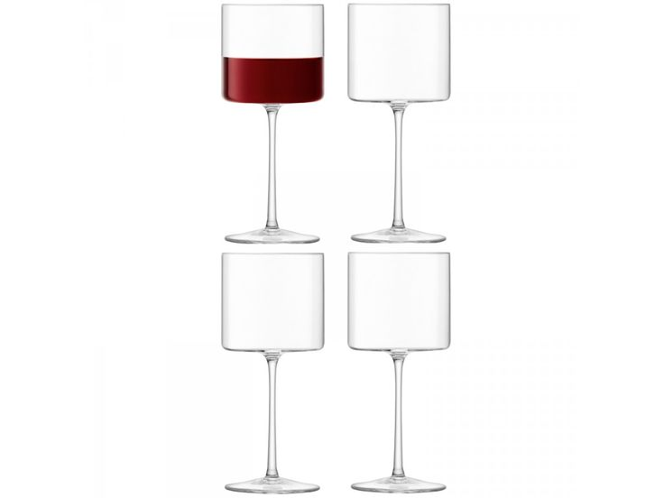 Red Wine Glass x 4