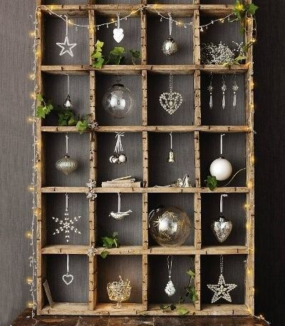 Showcases miniature Christmas - Christmas shadow boxes | Sakarton