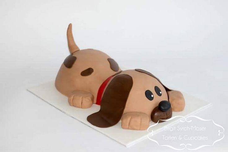 Birthday Cake, 3D Cake, Hundetorte - Birgit Syrch-Moser - Google+