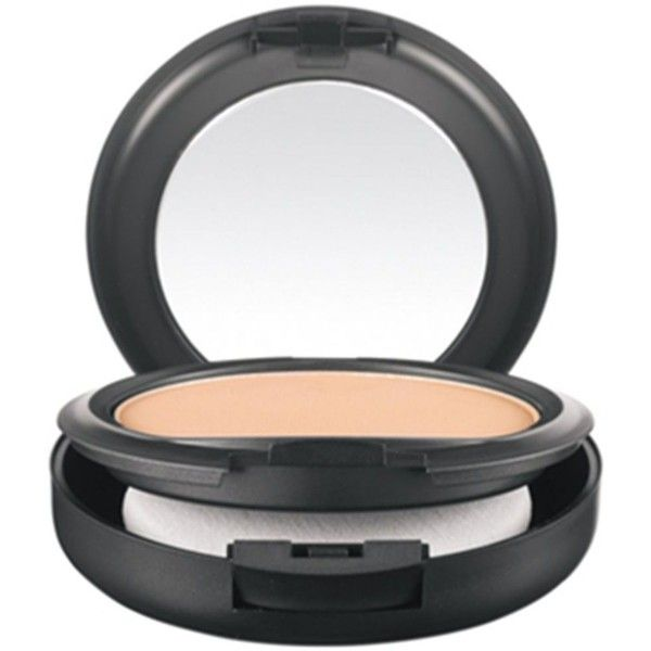 MAC Studio Fix Powder Plus Foundation ($32) ❤ liked on Polyvore featuring beauty products, makeup, face makeup, foundation, beauty, mac, mac cosmetics and mac cosmetics foundation