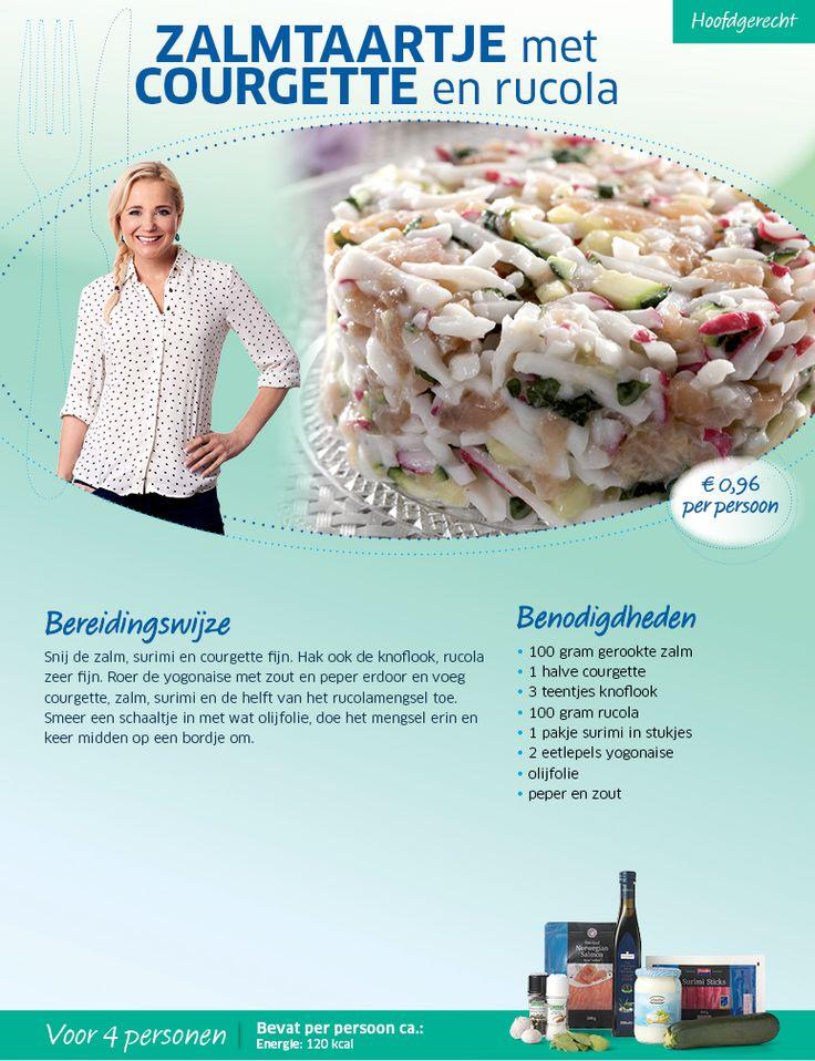 Zalmtaartje met courgette en rucola - Lidl Nederland