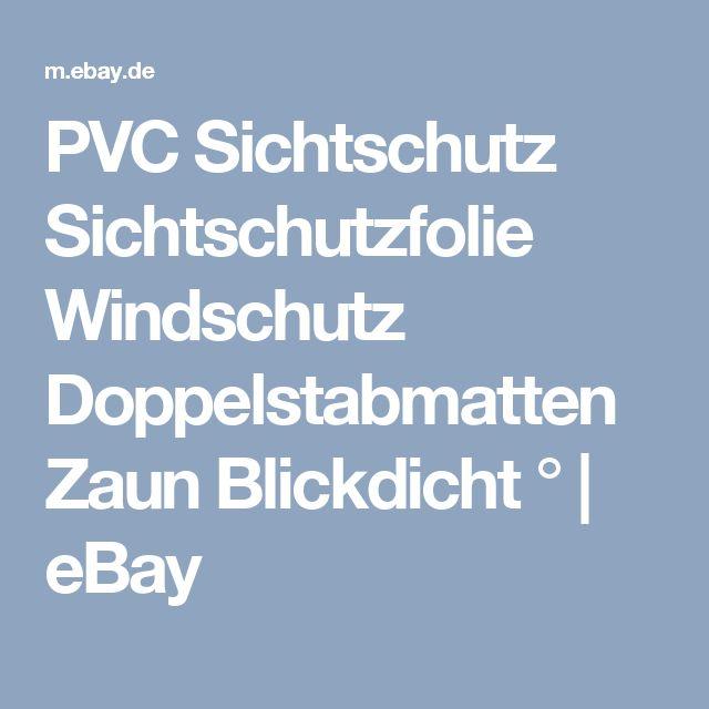 Die besten 25+ Pvc sichtschutz Ideen auf Pinterest Pvc wand - terrassen sichtschutz deko varianten