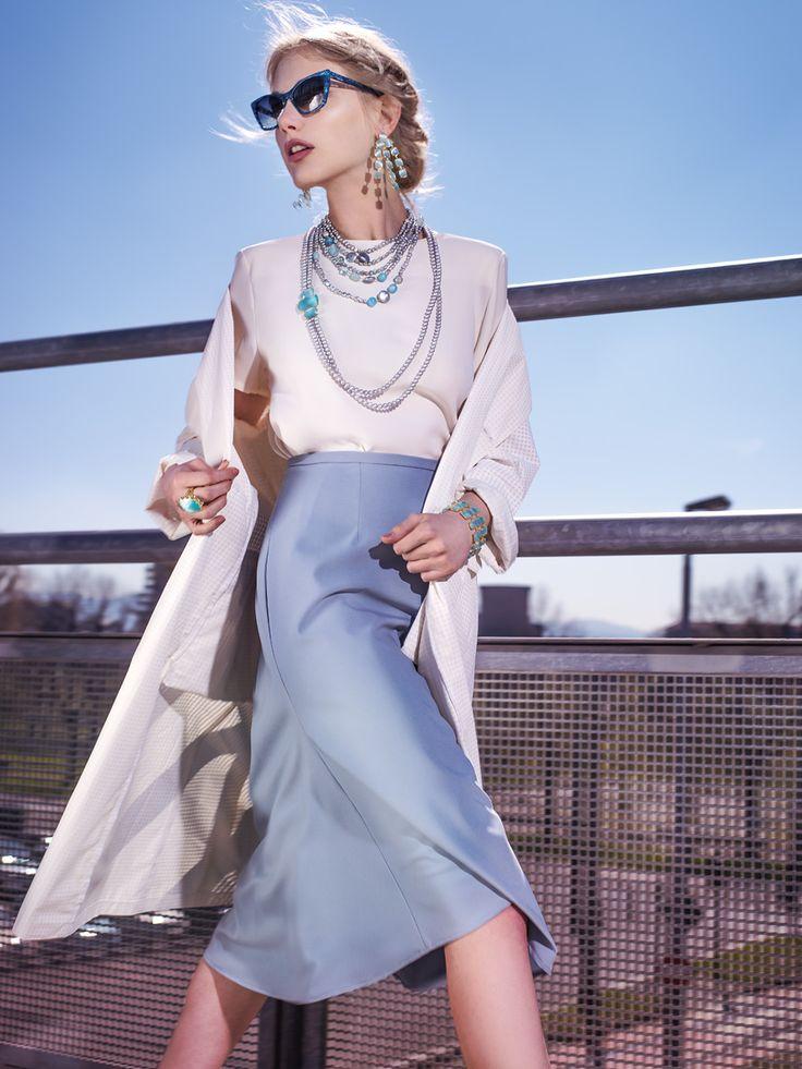 GUMON www.gumon.it  collezione Musa, gioielli in argento con pietre semipreziose e perle