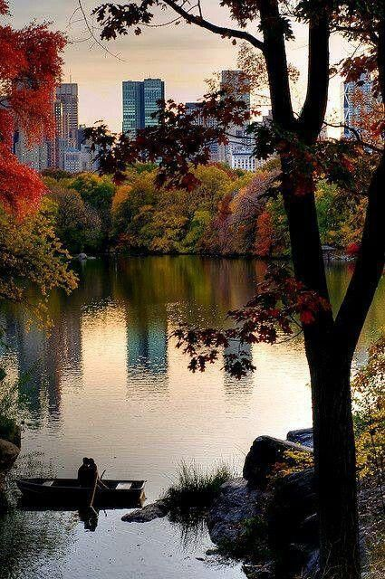 Central Park Lake: a view of the city that inspired the Coach Fall/Winter 2013 Collection