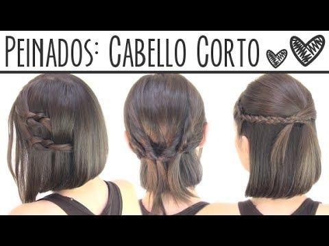 Peinados fáciles para cabello corto paso a paso, ¡ficha estas ideas!