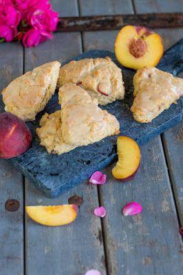 Vanille-Pfirsich Scones