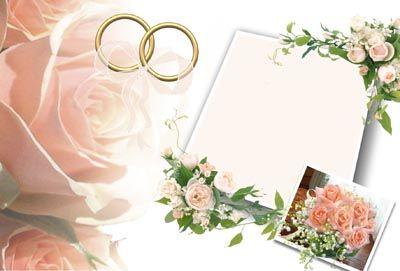 Esküvői meghívók saját kezüleg - Meghívó képek, minták, sablonok. Letölthető, nyomtatható sablon.