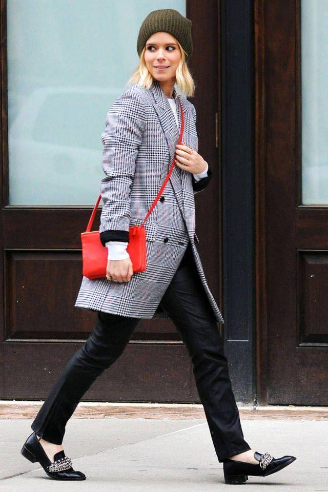 Celebrity Street Style    Picture    Description  Kate Mara rocks a gorgeous plaid coat. See more style secrets here!     https://looks.tn/celebrity/street-style/celebrity-street-style-kate-mara-rocks-a-gorgeous-plaid-coat-see-more-style-secrets-here/