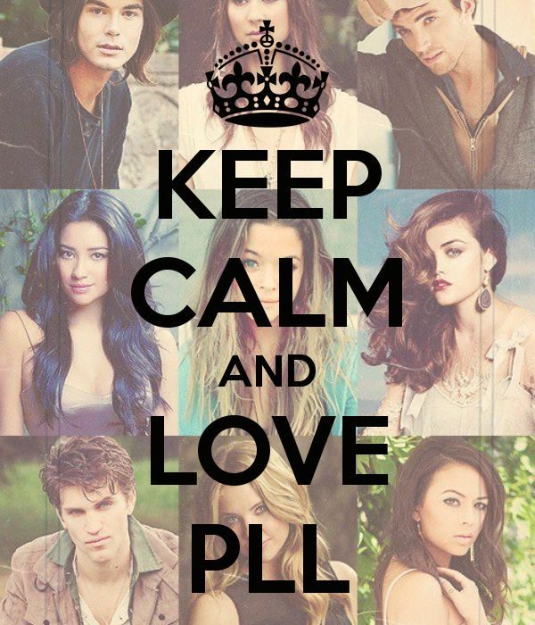 keep calm pll is on | Nobody has voted for this poster yet. Why don't you?
