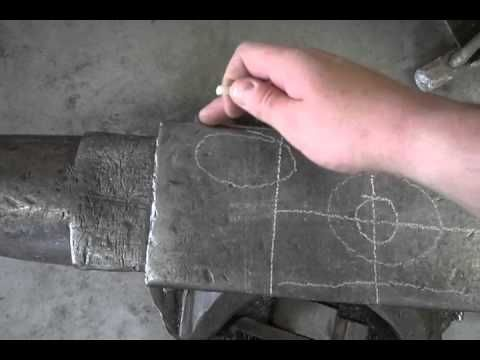 How to use a blacksmith anvil - YouTube