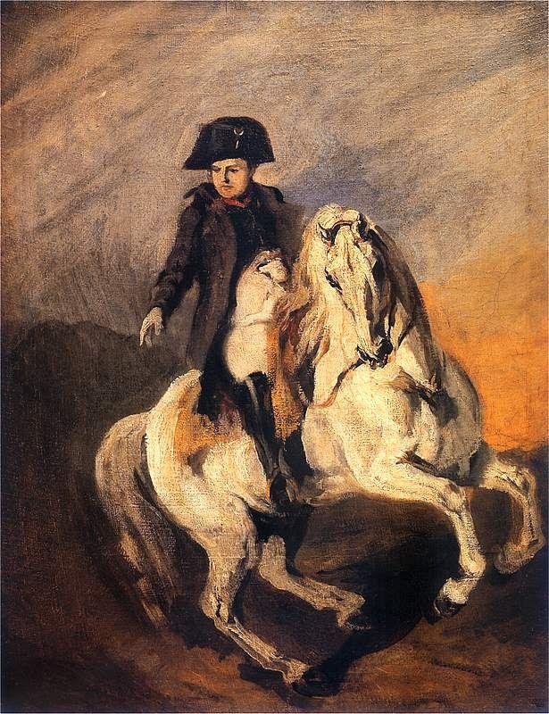 Piotr Michałowski, Napoleon na siwym koniu   http://www.pinakoteka.zascianek.pl/Michalowski/Images/Napoleon_na_koniu_2.jpg