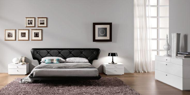 camera da letto grigia e bianca - Cerca con Google