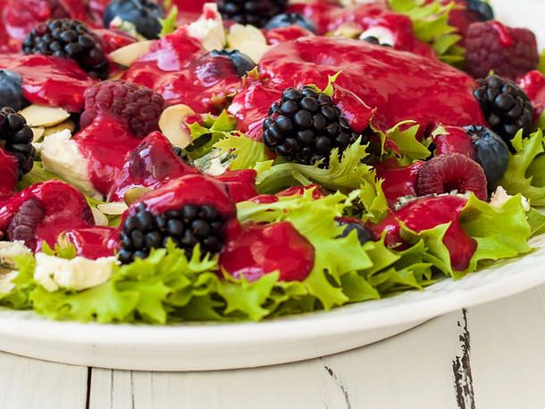 Himbeervinaigrette: Fruchtiges Salatdressing