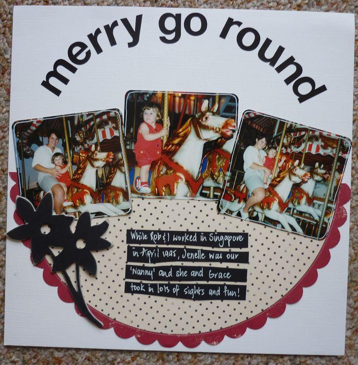 Merry Go Round 12x12
