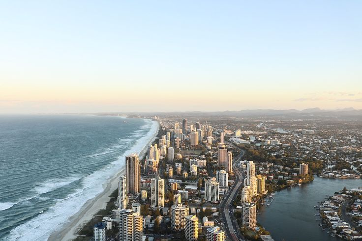 Things to Do on The Gold Coast - View of The Gold Coast Skyline from Q1's Sky Deck
