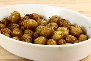 Små ovnbagte kartofler 4