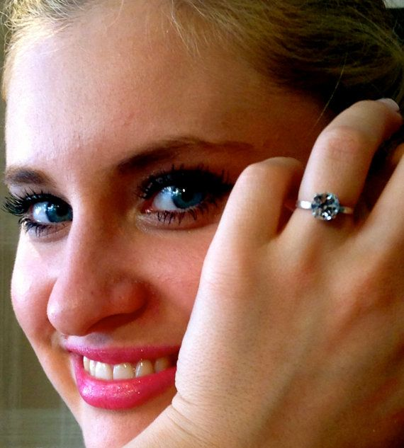 Swarovski Ring Silver OR Gold Plated Suitable for All by ClarityGR, €17.72