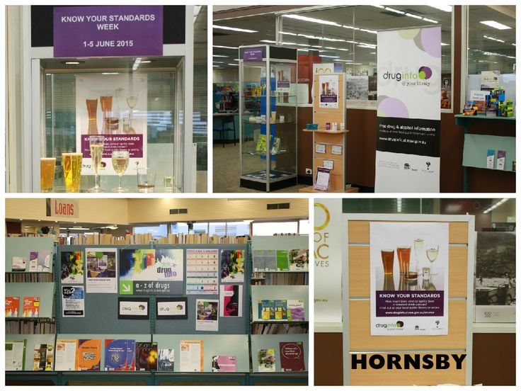 Displays for Know Your Standards Week at Hornsby Library 2015 - #knowyourstandards #nswpubliclibraries