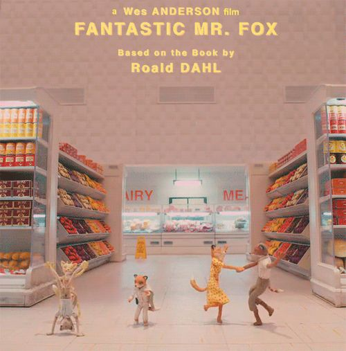 Animated/modelled Fantastic Mr Fox. - a modern classic, so quirky and smart