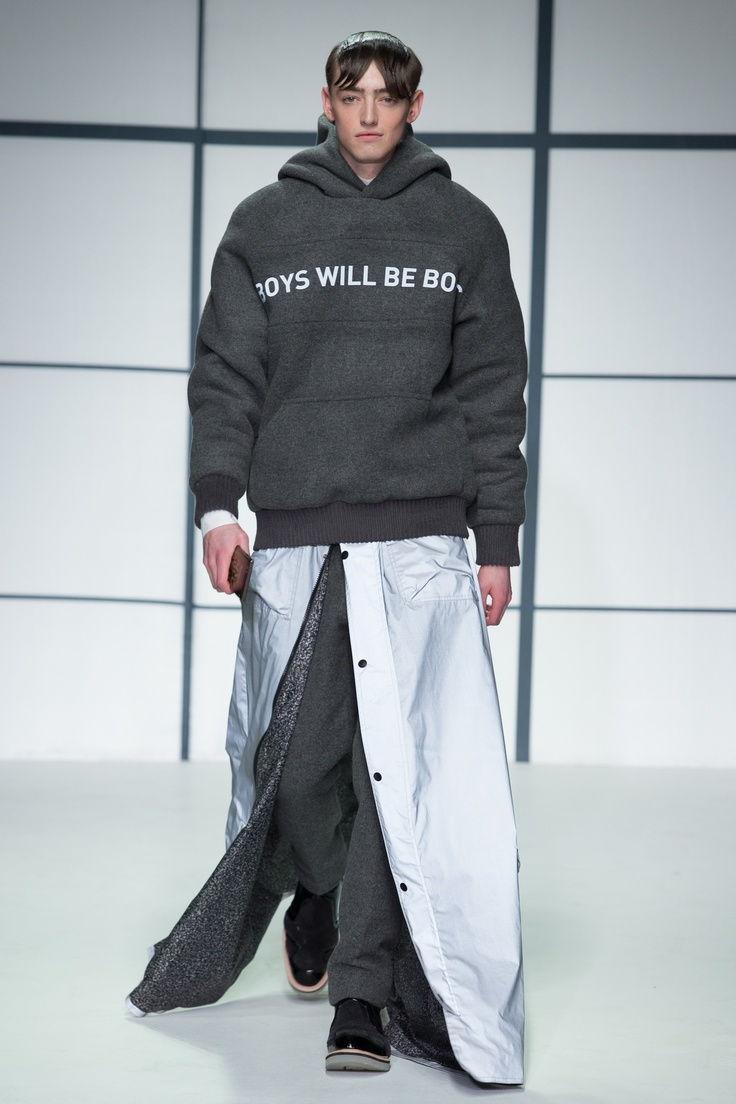 Xander Zhou AW13 - #Londoncollections