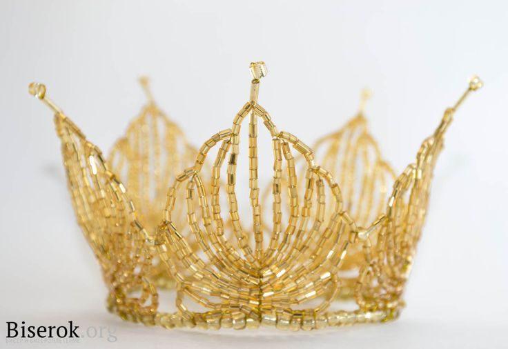If anyone is adventurous and patient, here is a tutorial for a beaded crown using wire.