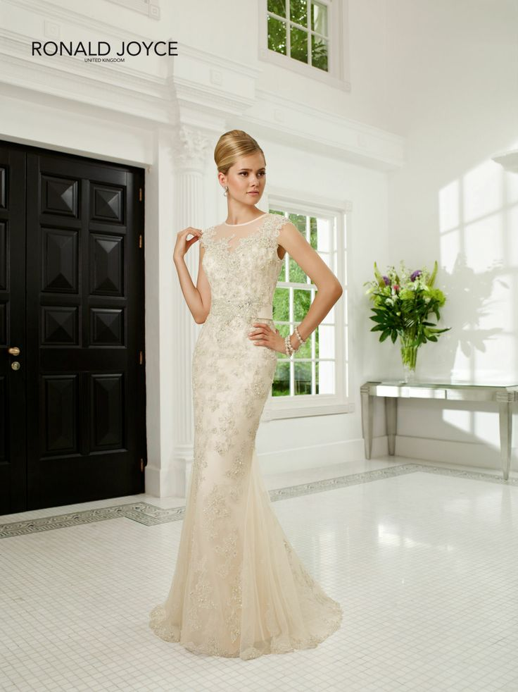 Create Your Perfect Bridal Silhouette With A Dress From Ronald Joyce