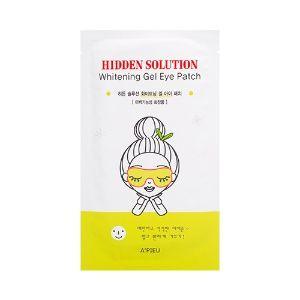 Korean [APIEU] Hidden Solution Whitening Gel Eye Patch 1ea「koreabuys.com」