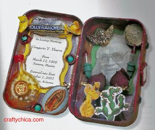 Diary of a Crafty Chica™: DIA DE LOS MUERTOS CRAFT: All about shrines