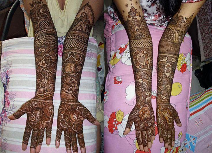Ashriniwasan mehendi designer latest bridal mehndi