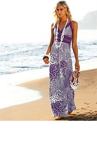 Dresses - Heine Printed Maxi Dress