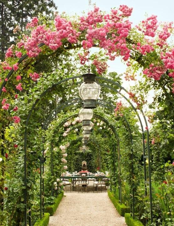 Flower Archway Secret Garden Pinterest In Love