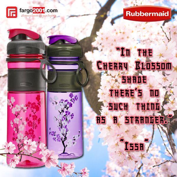 Membutuhkan botol minum yang cantik dan lucu tetati tetap berkualitas? Rubbermaid Cherry Blossom ! Botol yang bebas BPA yang terbuat dari Tritan sehingga bebas dari bau dan noda ! http://fargo2001.com/housewares-315/food-storage-338/rubbermaid-339/rubbermaid-cherry-blossom-1269.html