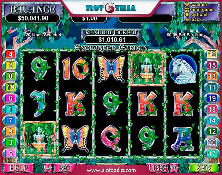 Enchanted Garden free #slot_machine #game presented by www.Slotozilla.com - World's biggest source of #free_slots where you can play slots for fun, free of charge, instantly online (no download or registration required) . So, spin some reels at Slotozilla! Enchanted Garden slots direct link: http://www.slotozilla.com/free-slots/enchanted-garden