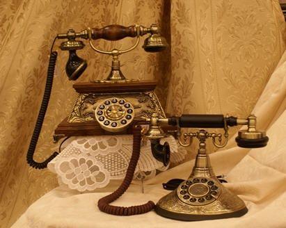 Antique Telephones.
