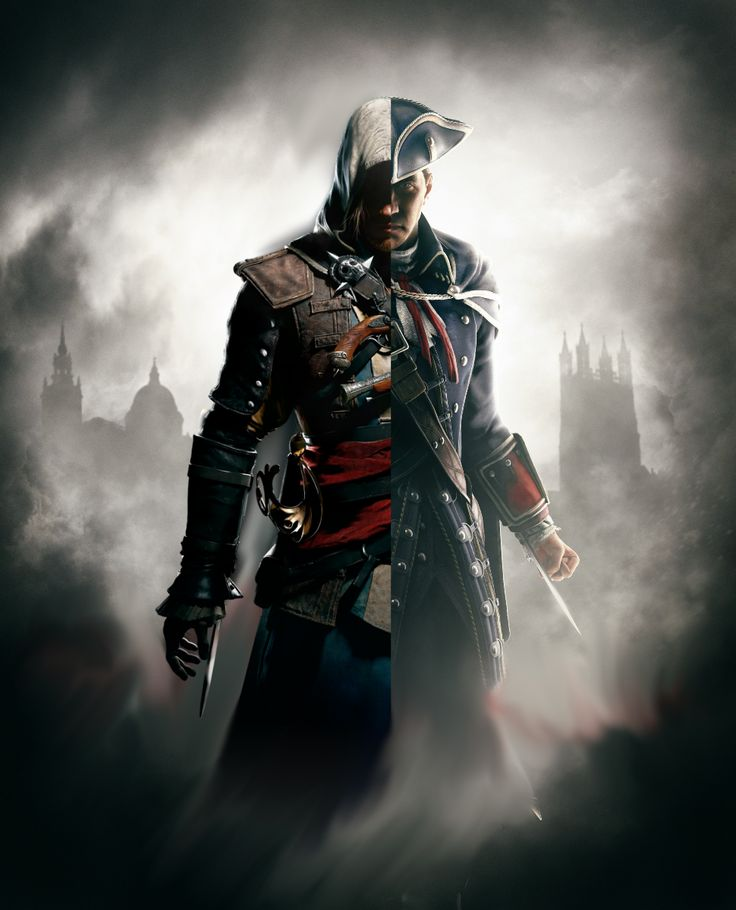 Assassin's Creed. Edward vs Haytham