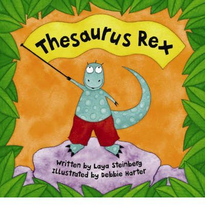 This book encourages children to explore synonyms with cheeky Thesaurus Rex. This playful dinosaur has an irresistable way with words - watch him slither, skid, slide and glide.