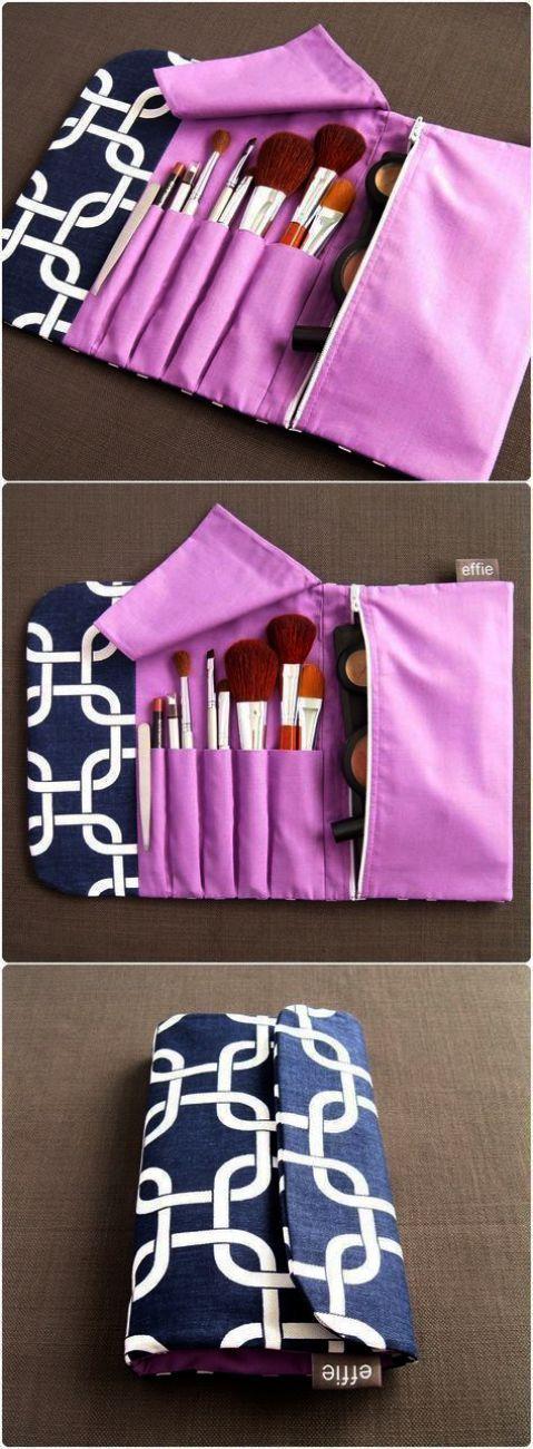 Makeup Bag Phrases; Makeup Bag Organizer Girly on Makeup