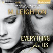 Everything for Us by M. Leighton ~ Olivia Townsend's wealthy cousin Marissa had everything a girl could ask for - a great job, a privileged life, and all the friends she wanted. Or, at least, all the friends money could buy. But one case of mistaken identity has turned her privileged world upside down. An abduction gone wrong lands her right in the lap of the sexiest, most dangerous man she's ever met. To Marissa, he's an enigma, but one to whom she's irresistibly, inexplicably drawn.