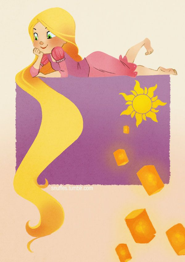 Rapunzel by Snufflin