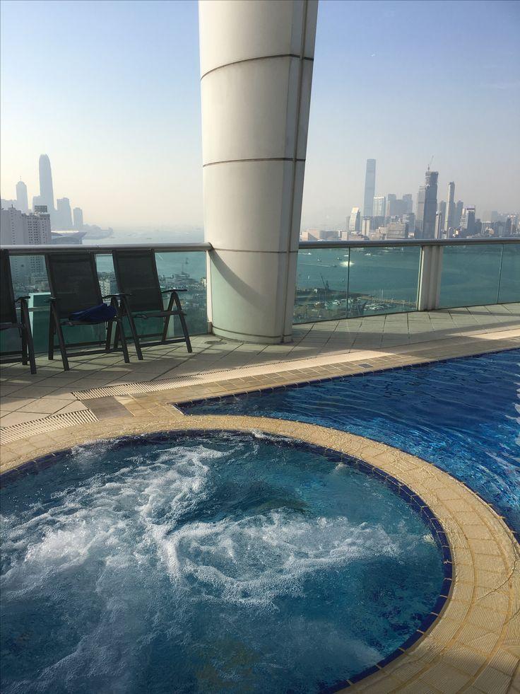 Pool at metro park hotel causeway bay Hong Kong