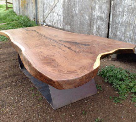 Live Edge Wood Slab Tables | Black's Farmwood