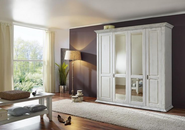 ber ideen zu kleiderschrank massivholz auf. Black Bedroom Furniture Sets. Home Design Ideas