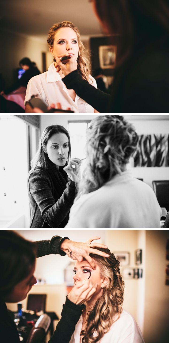 Makeup by Kate Farmer Photography by Tina Shawal