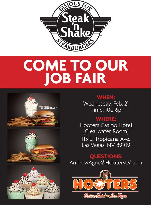 las vegas casino job fair