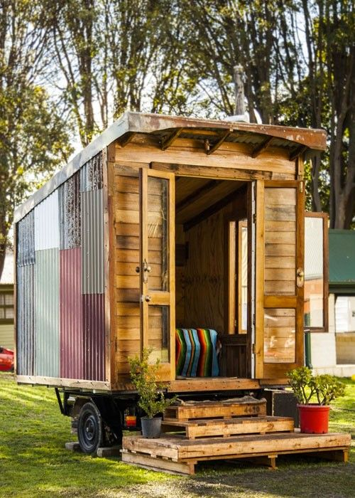 James Galletly gets the tiny house movement moving